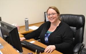 Anni at Desk