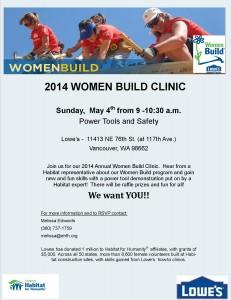Clinic flyer